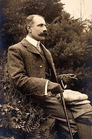 Rest is Noise: The English composer Sir Edward Elgar circa 1900