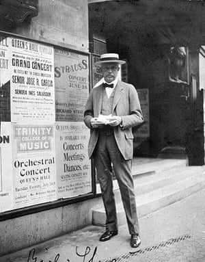 Rest is Noise: The composer Richard Strauss in London, 1914