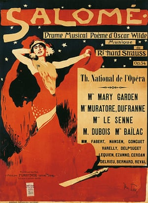 Rest is Noise: A poster for the Paris production of Richard Strauss's Salome