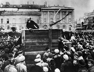 Rest is Noise: Lenin in Red Square circa 1917