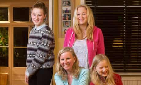 Joanna Moorhead daughters