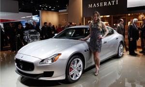 Detroit Auto Show Maserati 2014
