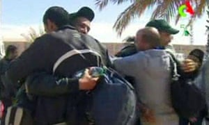 Hostages freed from the gas facility in Algeria