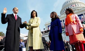 Obama's inauguration: eight key moments from the first ...