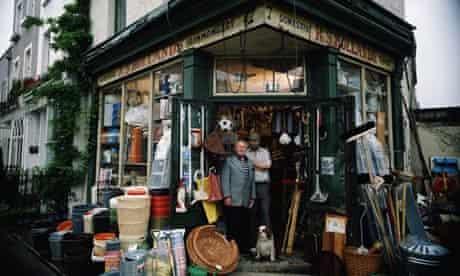 small traditional ironmonger shop