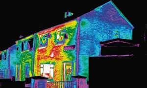 Badly insulated house