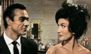 James Bond: Sean Connery and a 'Bond girl' in Dr No