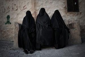 20 Photos: Bahraini Shiite Muslim women at the funeral of Habib Ebrahim Abdullah