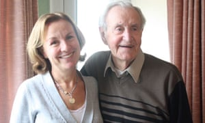 Nancy Pearcey with her father, Neville
