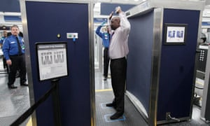 TSA airport body scanners
