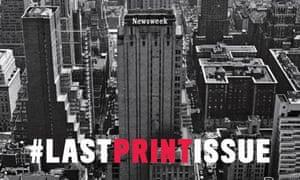 newsweek last print cover
