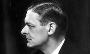 TS Eliot profile taken 1930