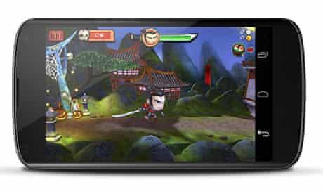 Google Nexus 4 smartphone