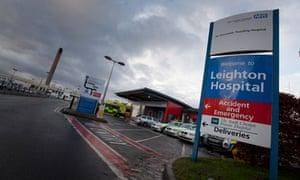 Leighton Hospital near Crewe