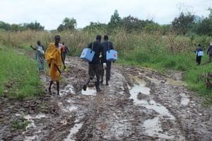 Merlin in South Sudan: healthcare outreach programme in Boma