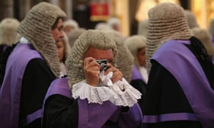Judges Attend Annual Service At Westminster Abbey