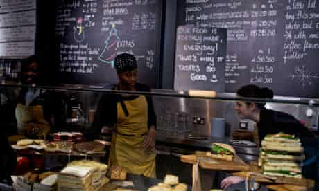 Harris + Hoole coffee shop, Crouch End, London