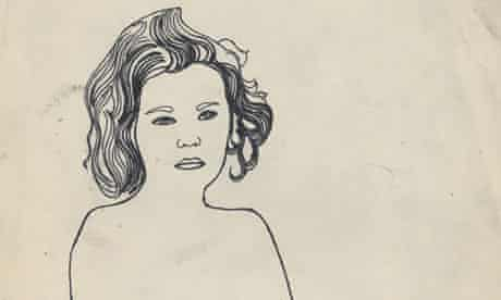 Andy Warhol Serious Girl