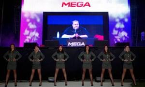 Kim Dotcom launches Mega