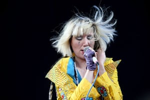 Week in music: Karen O of the Yeah Yeah Yeahs at the Big Day Out in Sydney