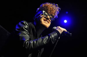 Football: Daley performs at The Forum in London