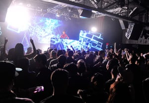 Football: DJ Zedd performs at the Highline Ballroom in New York