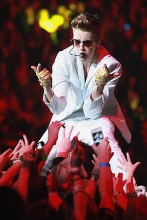 Week in music: Justin Bieber on stage in Birmingham, Alabama
