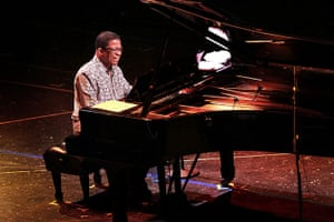Week in music: US Jazz musician Herbie Hancock plays at the Jazz Festival in Panama City
