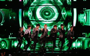 Week in music: Pop group Super Junior perform during the Korean Golden Disk Awards