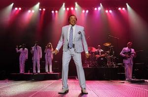 Football: Smokey Robinson in concert at Hard Rock Live in Florida, US