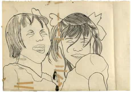 Andy Warhol drawing