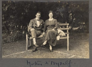 Family Secrets: Richard Blake Brown with his mother