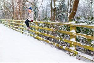 readers snow pix: Jenna F Johnston