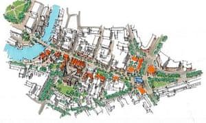 urban plan proposal for redcliffe way