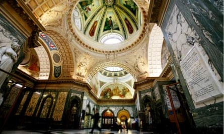 The grand hall at London's central criminal court