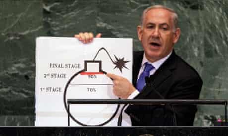 Benjamin Netanyahu at the UN