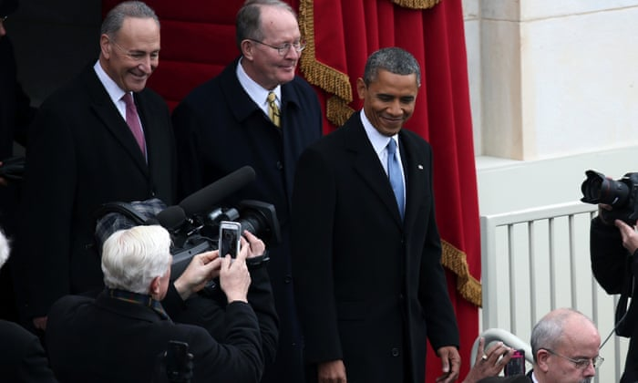 Barack Obama's second-term inauguration day – as it happened