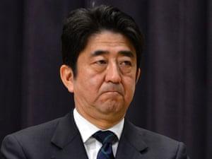Japan's prime minister, Shinzo Abe.
