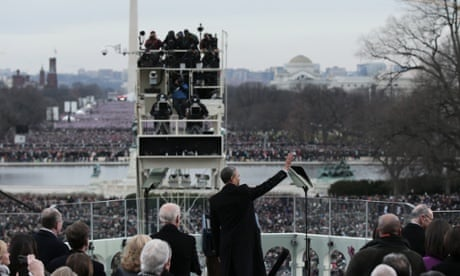 What are some topics in barack obama's inaugural speech?