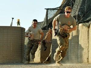 Harry in Afghanistan: HRH Prince Harry Afghanistan