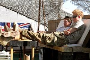 Harry in Afghanistan : Prince Harry in Afghanistan
