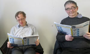 Nick Smith and John Nettles read Easy News