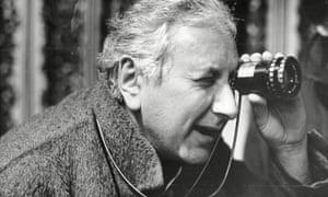 Michael Winner on the set of A Chorus of Disapproval
