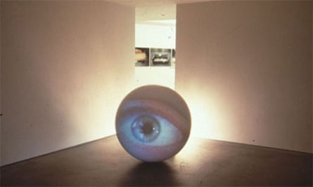 Cones vs Rods artwork by Tony Oursler