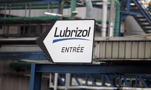 Lubrizol factory in Rouen