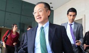 World Bank president Jim Yong Kim in Lima