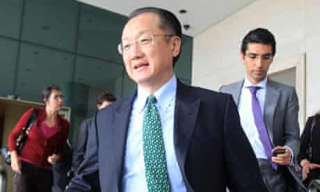 World Bank president Jim Yong Kim in Lima