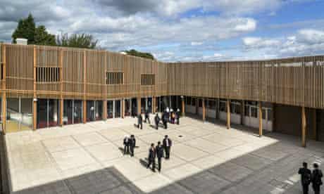 Park View secondary school in Alum Rock, Birmingham