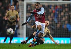 league cup semi final: Aston Villa v Bradford City - Capital One Cup Semi-Final Second Leg