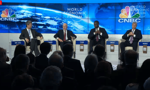 Bankers' session at Davos